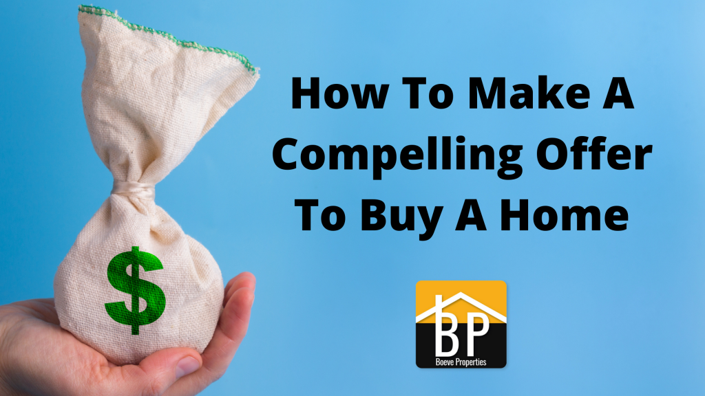 How to make a compelling offer