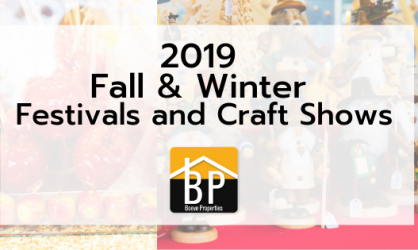 2019 Fall & Winter Festivals and Craft Shows (1)